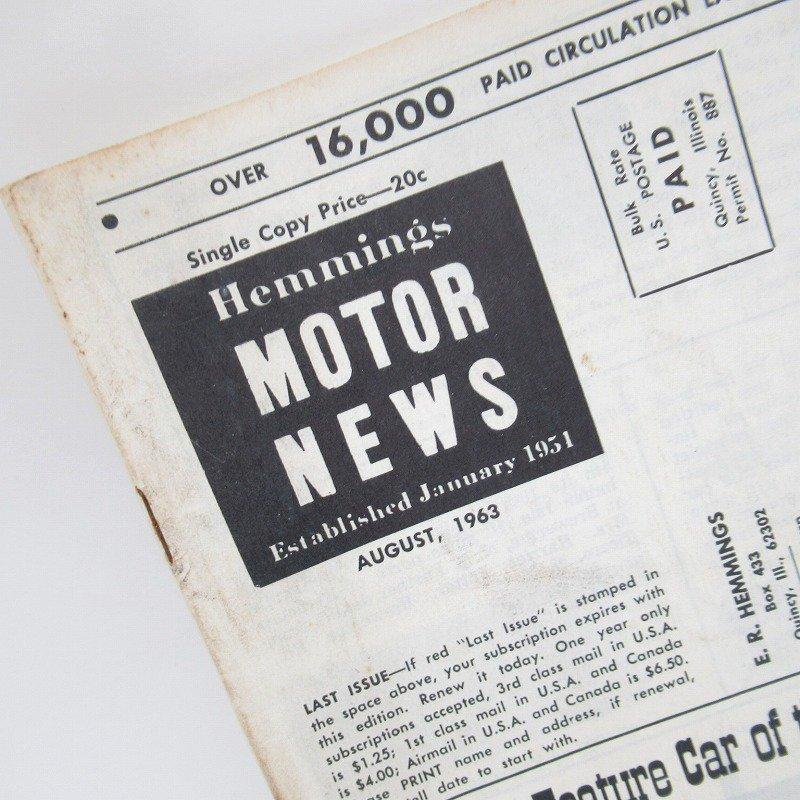 ヴィンテージブック・Motor News・1963年オート系マガジン【画像2】