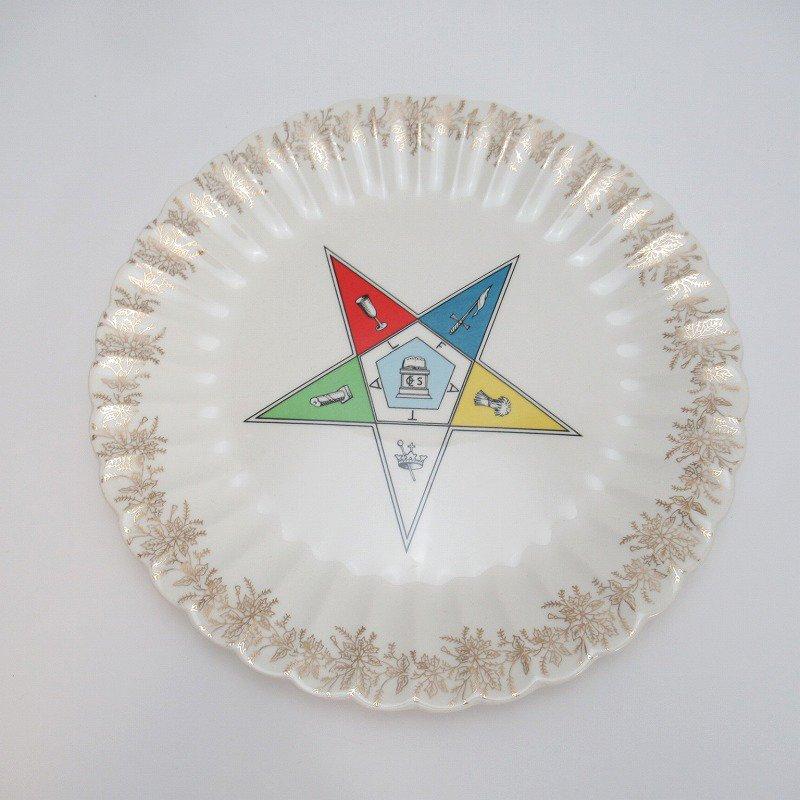 ヴィンテージ order of the eastern star フリーメーソン 逆五芒星