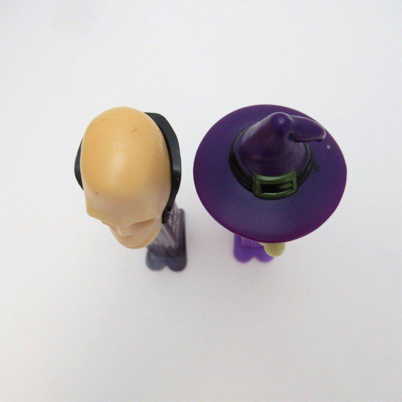 PEZ・ペッツ・ウィッチ&スケルトン・ハロウィン2本セット【画像3】