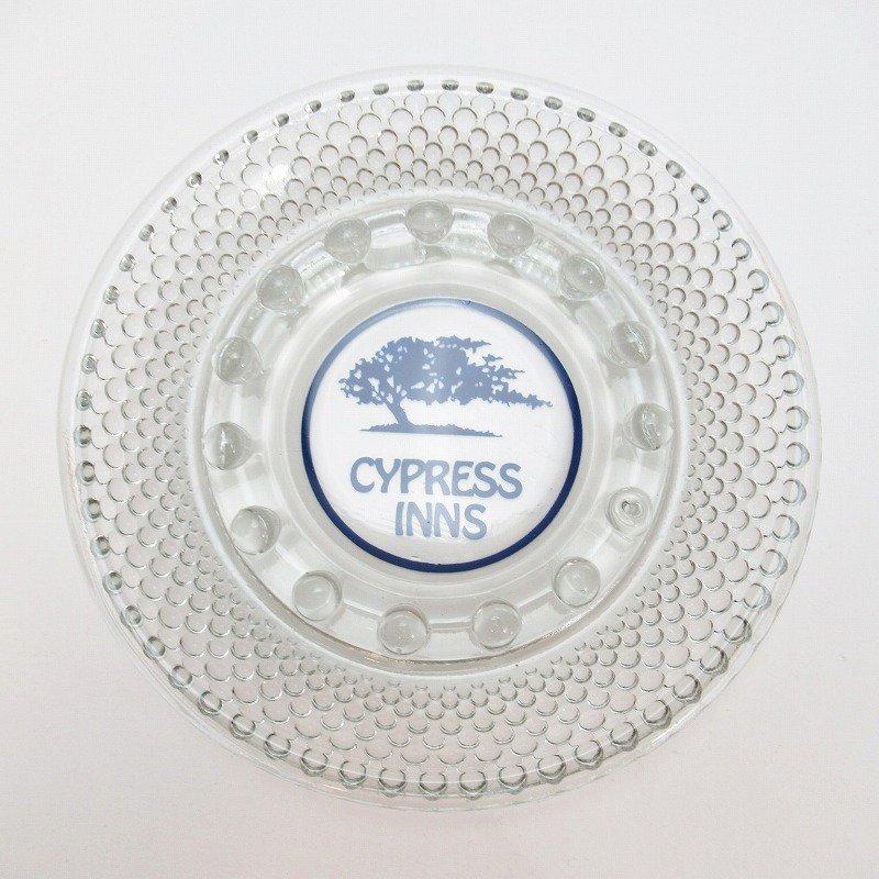 ヴィンテージアッシュトレイ・Cypress Inn・ブルーツリー灰皿