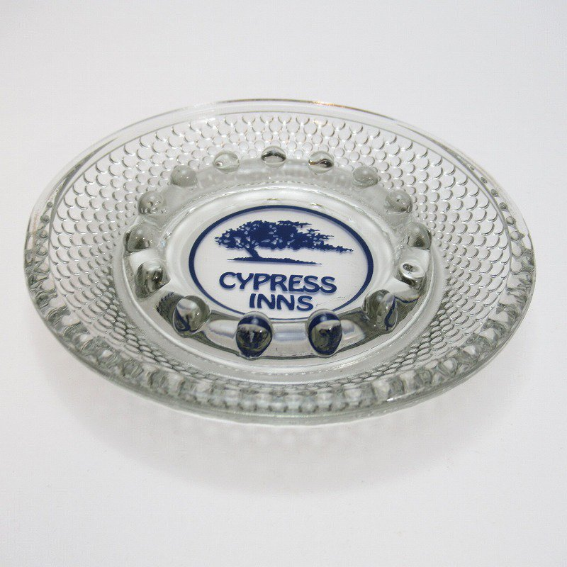 ヴィンテージアッシュトレイ・Cypress Inn・ブルーツリー灰皿【画像2】