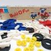 おままごと・お人形遊びアイテム・おもちゃ・ガラガラなど ヴィンテージトイ・タッパーウェアトイ・Build-O-Funブロックセット【B】
