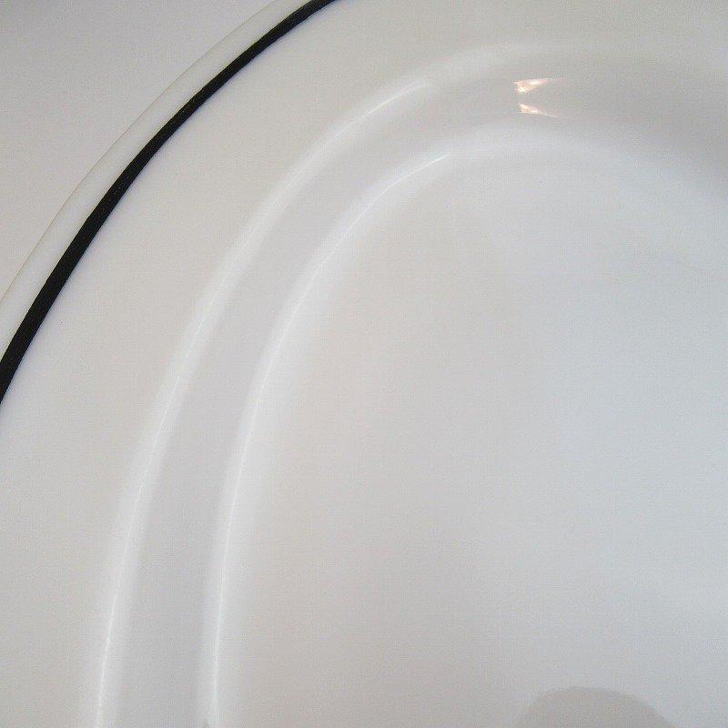 アウトレット・アンカーホッキング・アンカーウェア・ブラックライン・レストランウェア・オーバルプレート【C】【画像7】