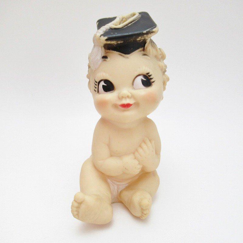 ヴィンテージ・ラバードール・BONNY TEX社・博士帽のベビー