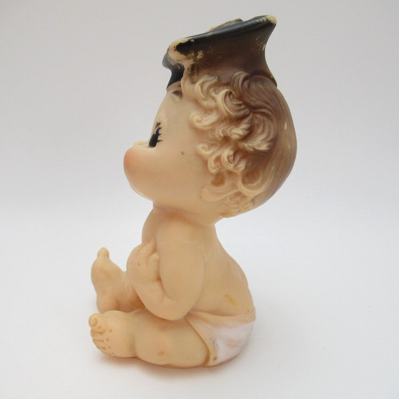 ヴィンテージ・ラバードール・BONNY TEX社・博士帽のベビー【画像2】