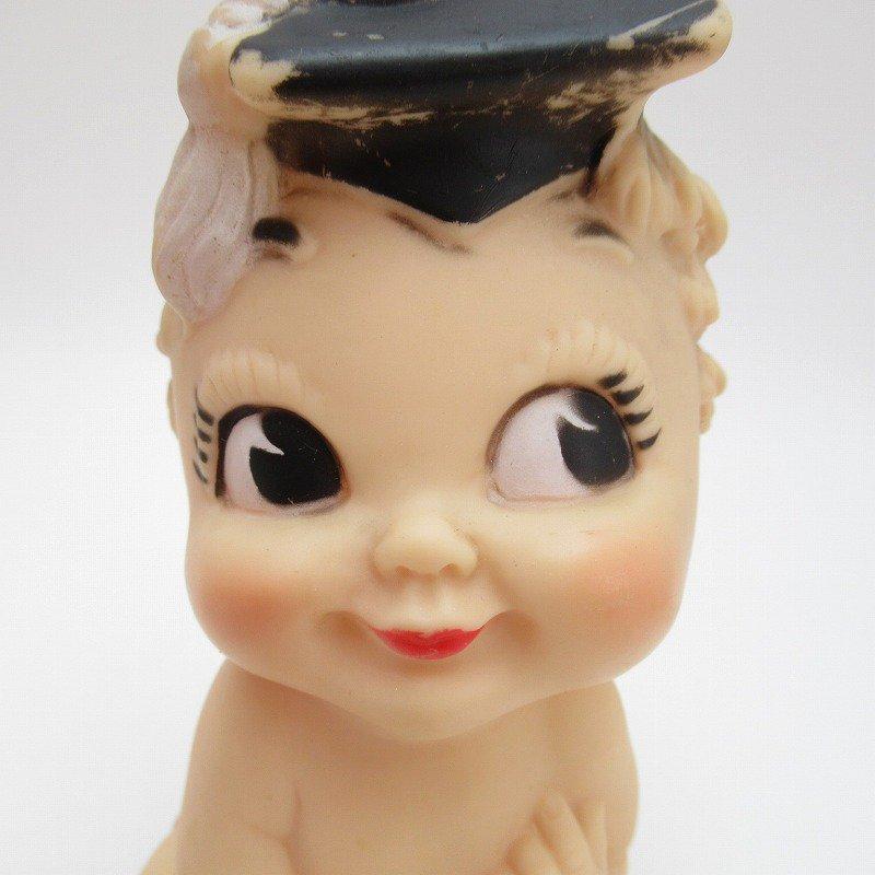 ヴィンテージ・ラバードール・BONNY TEX社・博士帽のベビー【画像7】