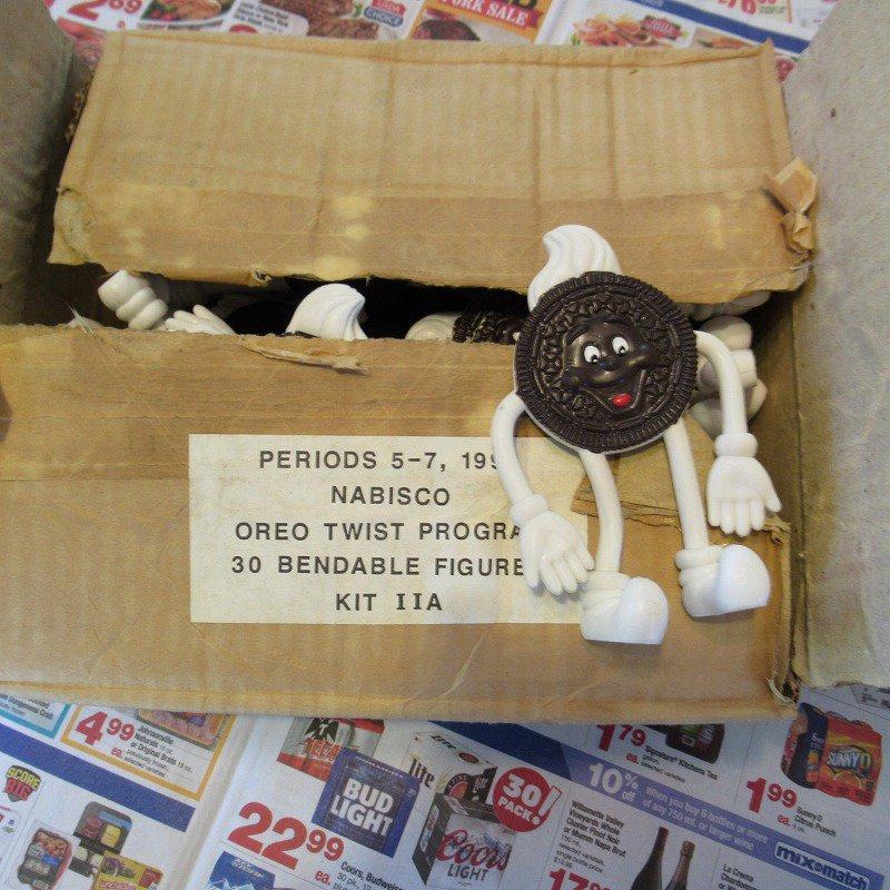 【大量入荷につき期間限定ご奉仕価格】デッドストック・未使用・ヴィンテージ・ナビスコ・OREO・オレオ・ベンダブル・白い靴
