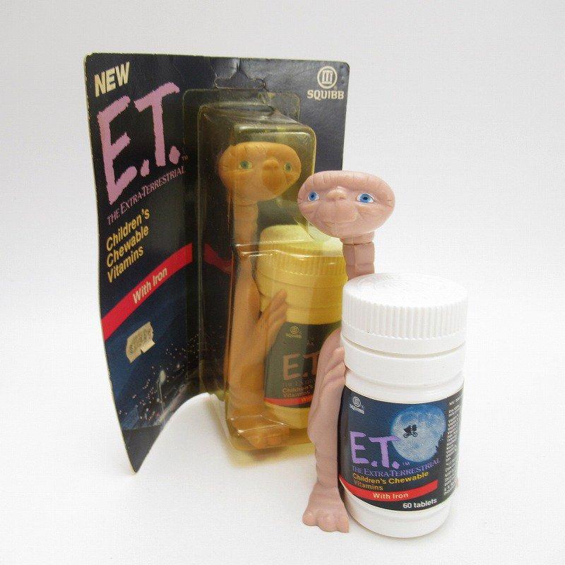 ヴィンテージ・1980年代・E.T.キャラクター付き・子供用ビタミン剤