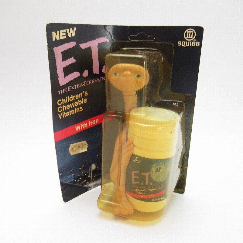 ヴィンテージ・1980年代・E.T.キャラクター付き・子供用ビタミン剤【画像13】