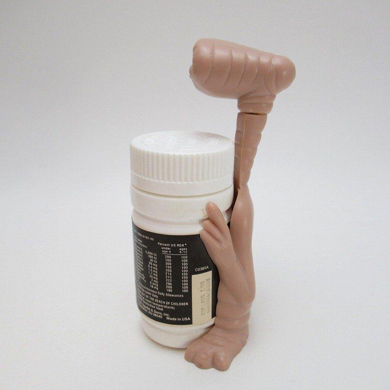 ヴィンテージ・1980年代・E.T.キャラクター付き・子供用ビタミン剤【画像8】