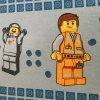 レゴ・プレイモビル・フィッシャープライスフィギュアなど ヴィンテージキャラクタシーツ・レゴ・LEGO MOVIE・フラット