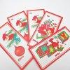 クリスマス ヴィンテージ・クリスマスプレゼント用・紙製タグ5枚セット・エルフ