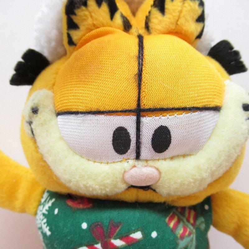 アウトレット・ヴィンテージ・ガーフィールド・クリスマスサンタ・ぬいぐるみ【画像2】