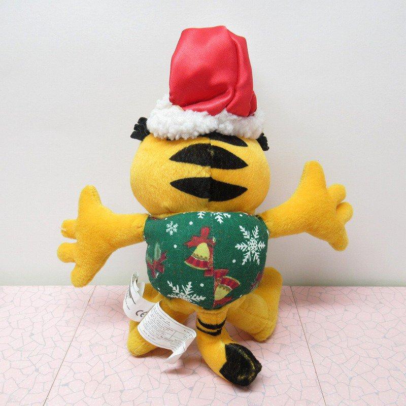 アウトレット・ヴィンテージ・ガーフィールド・クリスマスサンタ・ぬいぐるみ【画像4】