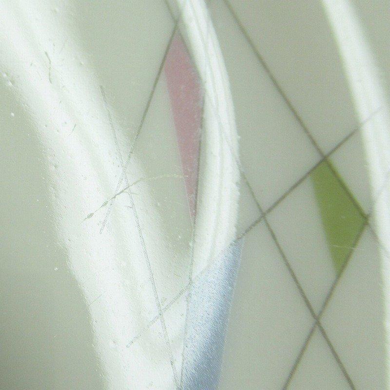 ヴィンテージ・ドイツ製・1949年〜1954年・ババリア・ミッドセンチュリー・アトミックプリント・ケーキディッシュ【B】【画像16】