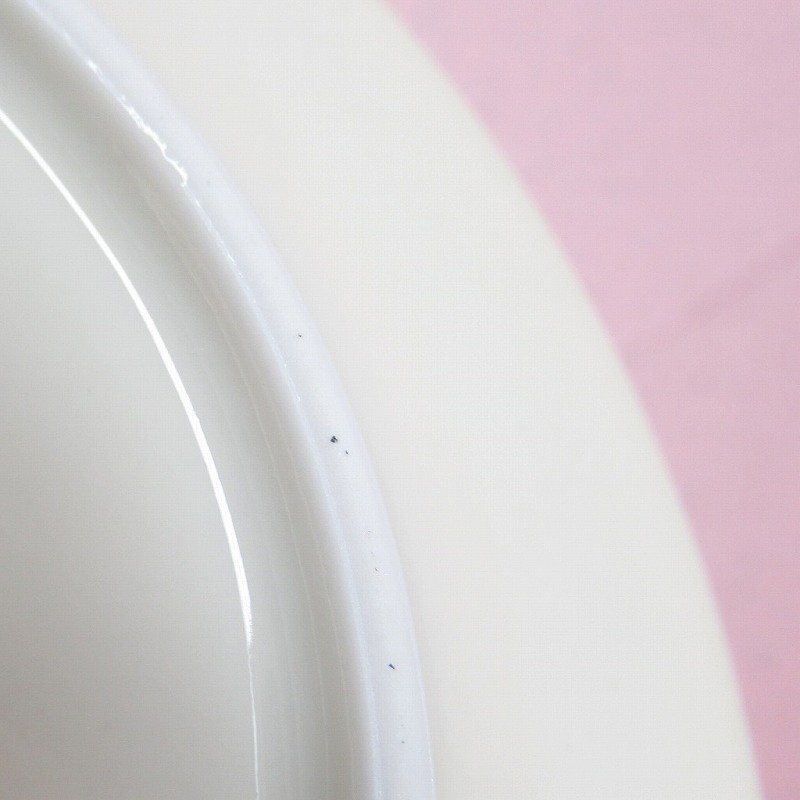ヴィンテージ・ドイツ製・1949年〜1954年・ババリア・ミッドセンチュリー・アトミックプリント・ケーキディッシュ【B】【画像6】