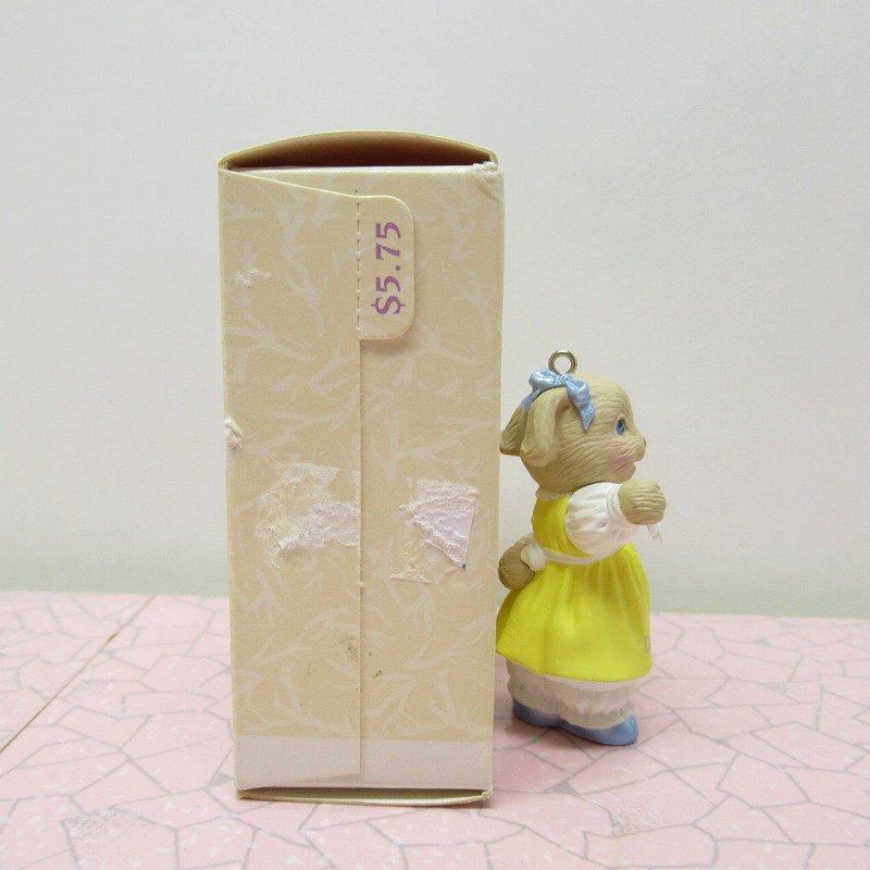 ヴィンテージ・1994年イースター・オリジナルボックス付・ホールマーク・バニー / Daughter【画像3】
