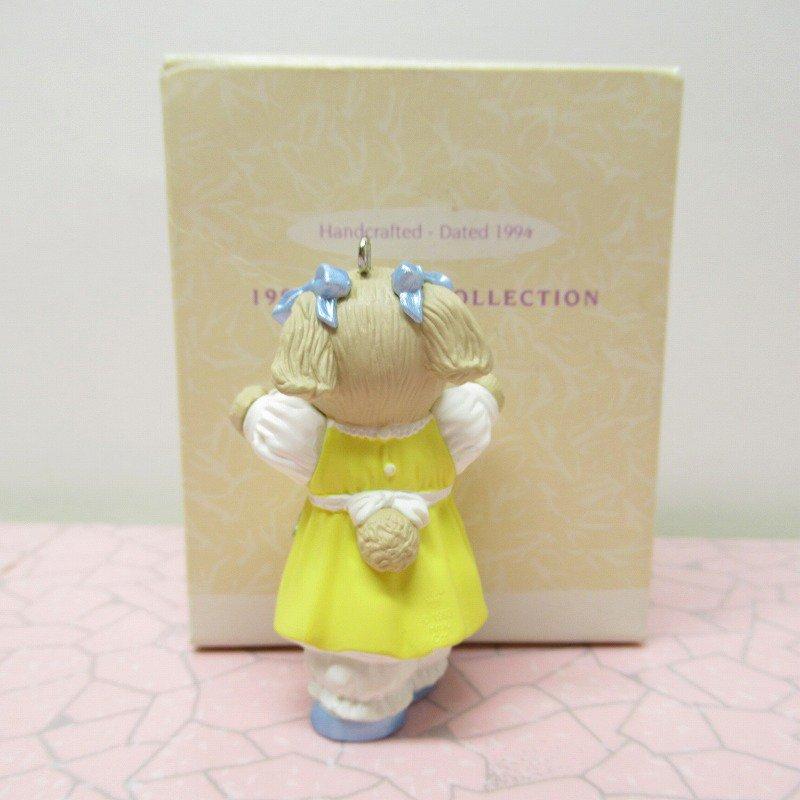 ヴィンテージ・1994年イースター・オリジナルボックス付・ホールマーク・バニー / Daughter【画像4】