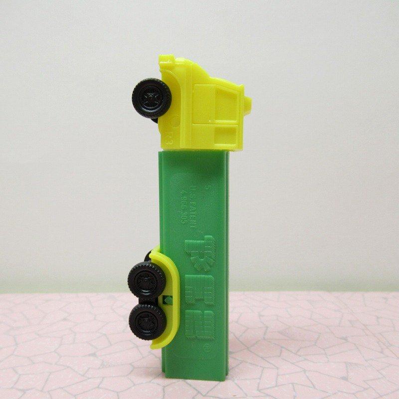 ペッツ・Pez・トラック・黄色x緑【画像3】