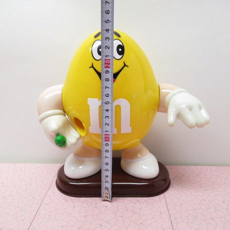 【訳あり】ヴィンテージ・M&Ms・エムアンドエムズ・黄色・ディスペンサー【画像12】