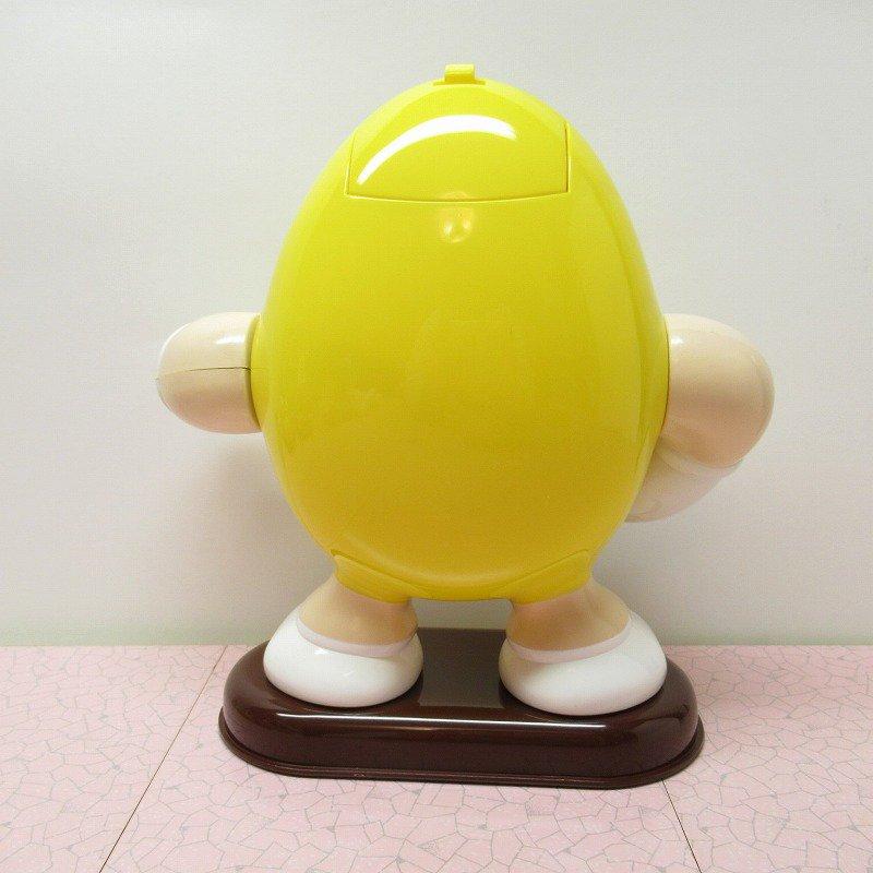 【訳あり】ヴィンテージ・M&Ms・エムアンドエムズ・黄色・ディスペンサー【画像3】
