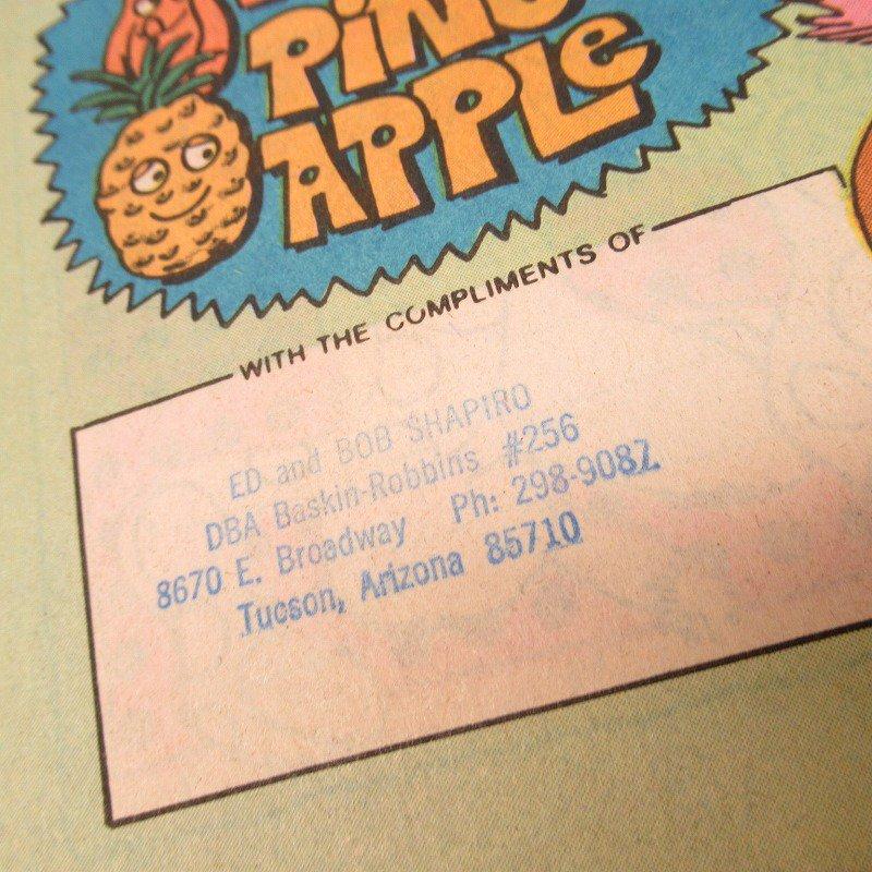 ヴィンテージ・1981年6月号・バスキンロビンス・31アイスクリーム・マガジン【画像6】