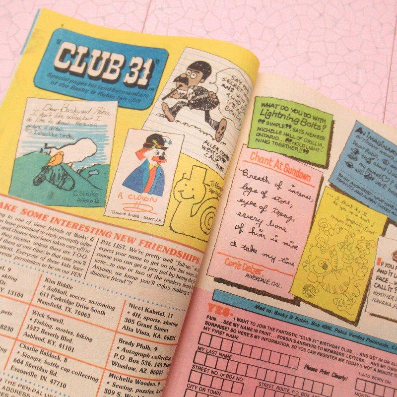 ヴィンテージ・1981年8月号・バスキンロビンス・31アイスクリーム・マガジン【画像8】