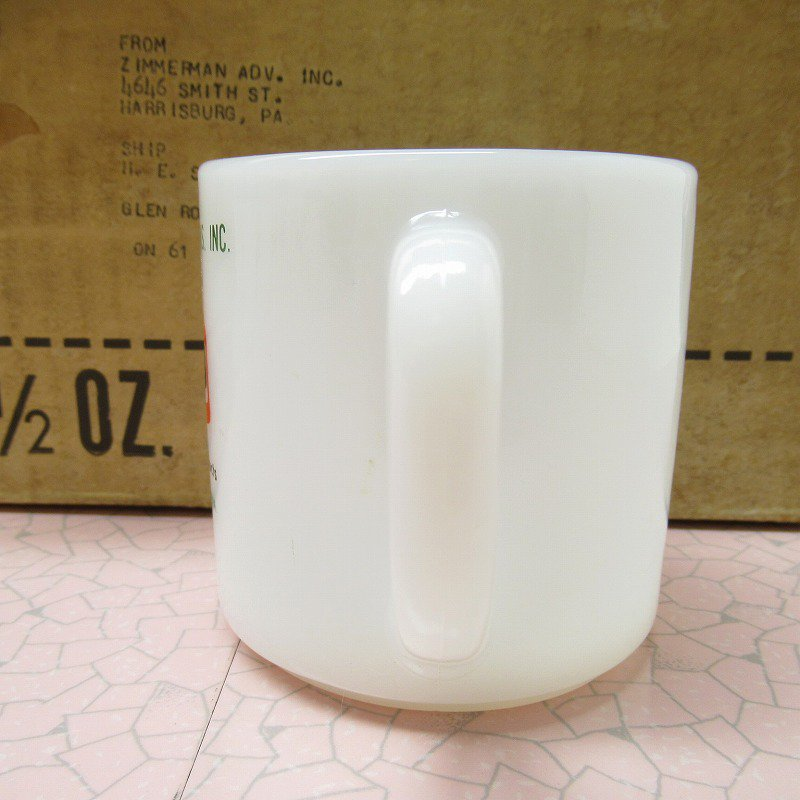 デッドストック・未使用・フェデラルグラス・テキサコ・TEXACOマグ・1972年【A】【画像3】