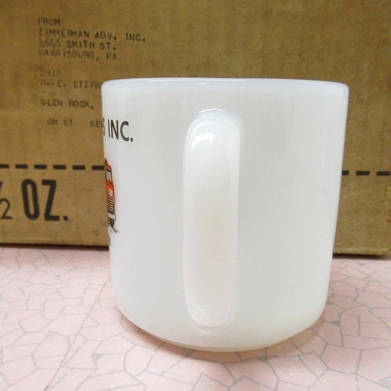 デッドストック・未使用・フェデラルグラス・テキサコ・TEXACOマグ・1973年【A】【画像5】