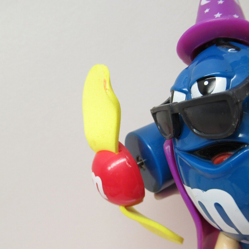 エムアンドエムズ M&Ms ハンディ 扇風機 ブルー ハロウィン ウィッチ 2008年【画像2】