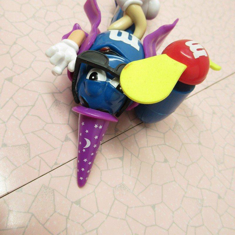 エムアンドエムズ M&Ms ハンディ 扇風機 ブルー ハロウィン ウィッチ 2008年【画像6】