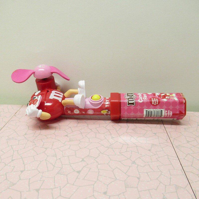 エムアンドエムズ M&Ms ハンディ 扇風機 レッド バレンタイン 2007年【画像3】
