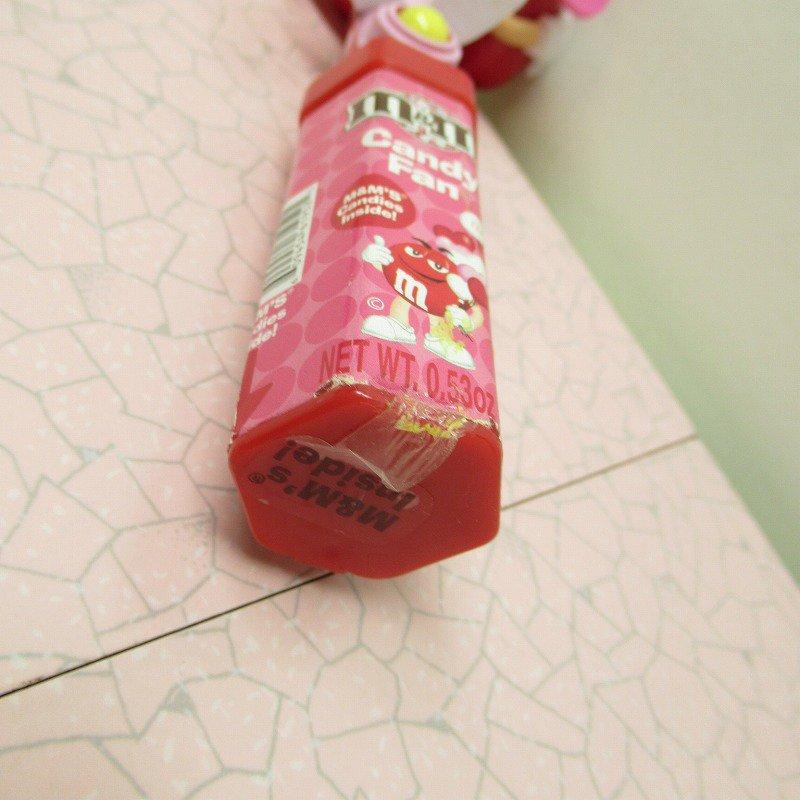 エムアンドエムズ M&Ms ハンディ 扇風機 レッド バレンタイン 2007年【画像4】