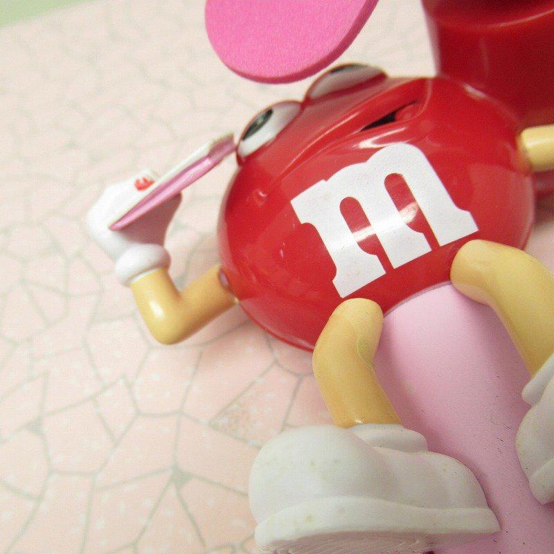 エムアンドエムズ M&Ms ハンディ 扇風機 レッド バレンタイン 2007年【画像8】
