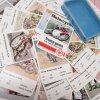 オート&ツール&ガレージ系雑貨  オートバイ 西ドイツ製 トランプ モーターサイクル カードゲーム