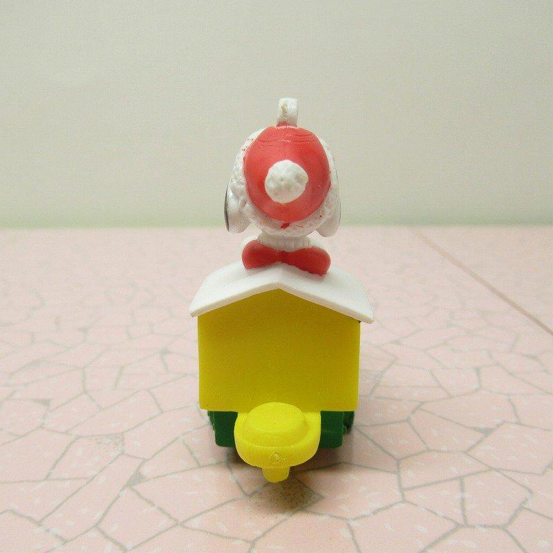 スヌーピー PVC ホイットマンズ クリスマス オーナメント サンタ と そり【画像3】