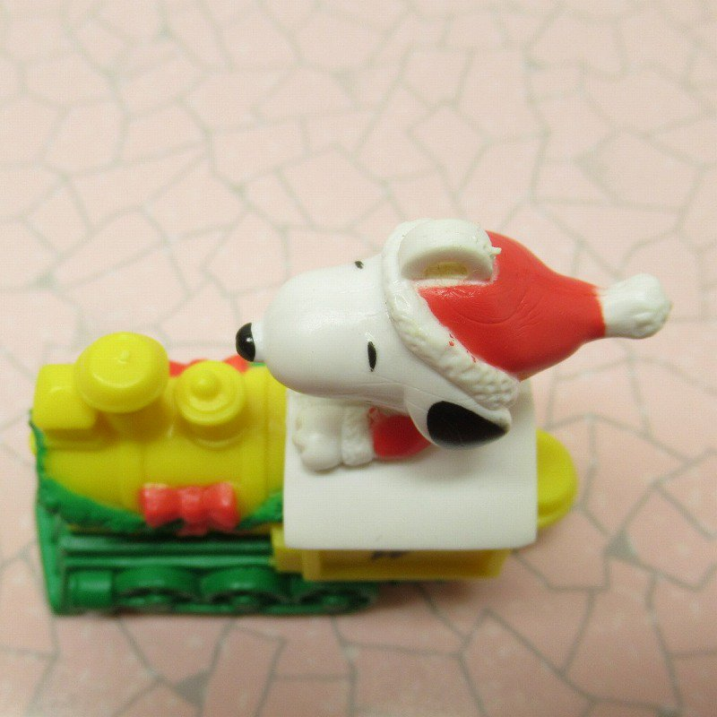 スヌーピー PVC ホイットマンズ クリスマス オーナメント サンタ と そり【画像6】