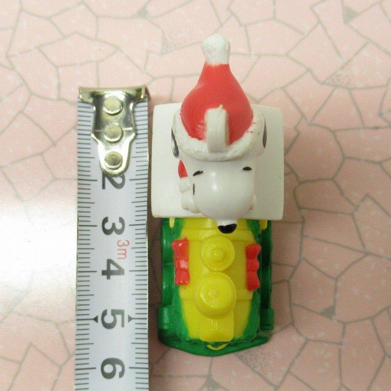 スヌーピー PVC ホイットマンズ クリスマス オーナメント サンタ と そり【画像9】