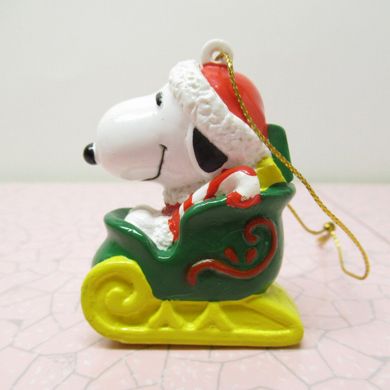 スヌーピー PVC ホイットマンズ クリスマス オーナメント サンタとプレゼント【画像2】