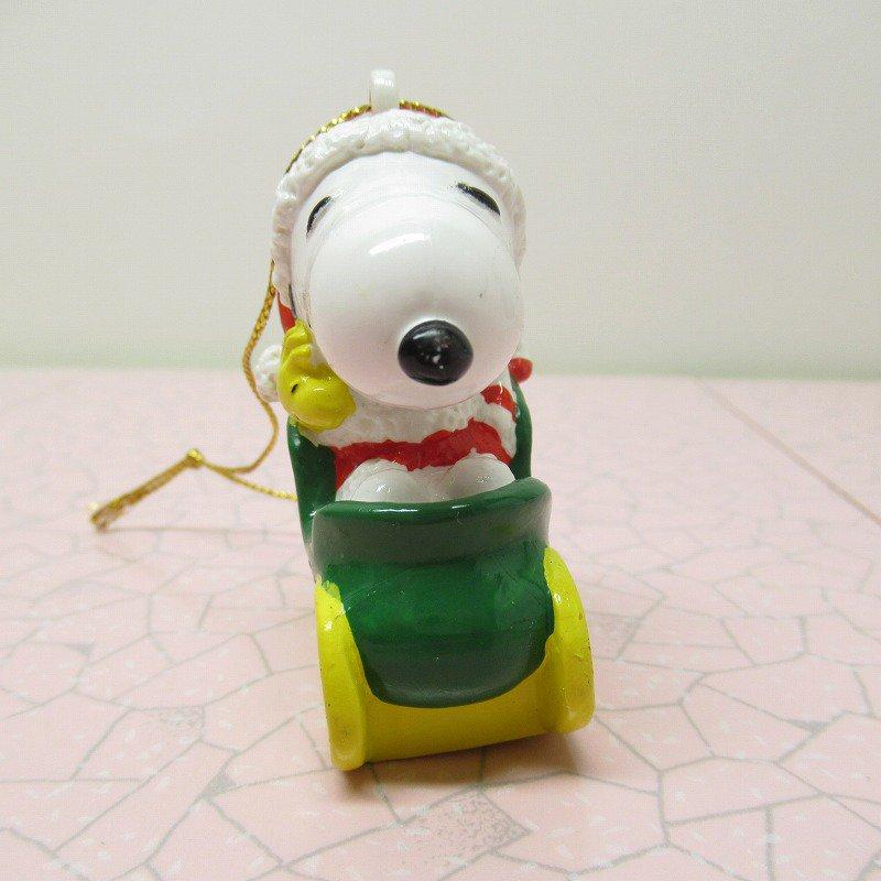 スヌーピー PVC ホイットマンズ クリスマス オーナメント サンタとプレゼント【画像3】