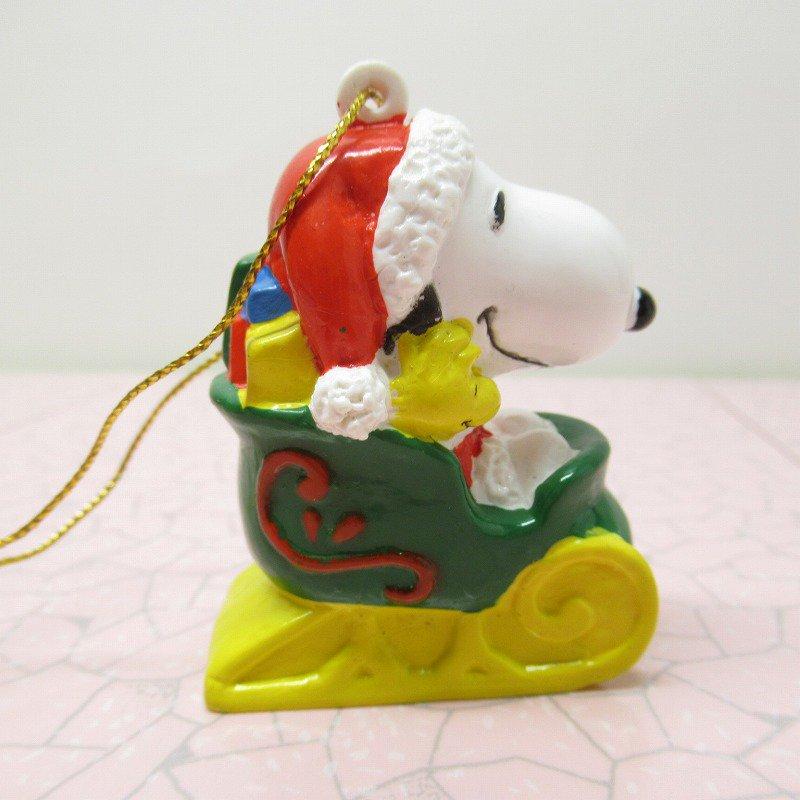 スヌーピー PVC ホイットマンズ クリスマス オーナメント サンタとプレゼント【画像5】