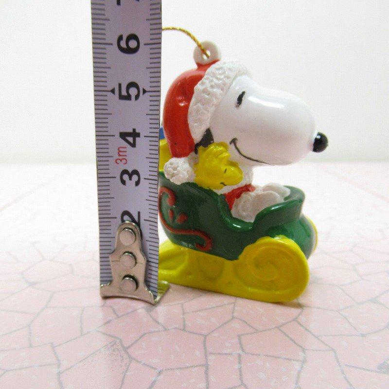 スヌーピー PVC ホイットマンズ クリスマス オーナメント サンタとプレゼント【画像9】