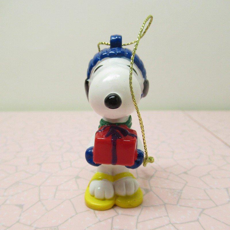 スヌーピー PVC ホイットマンズ クリスマス オーナメント 赤いプレゼントボックス【画像3】