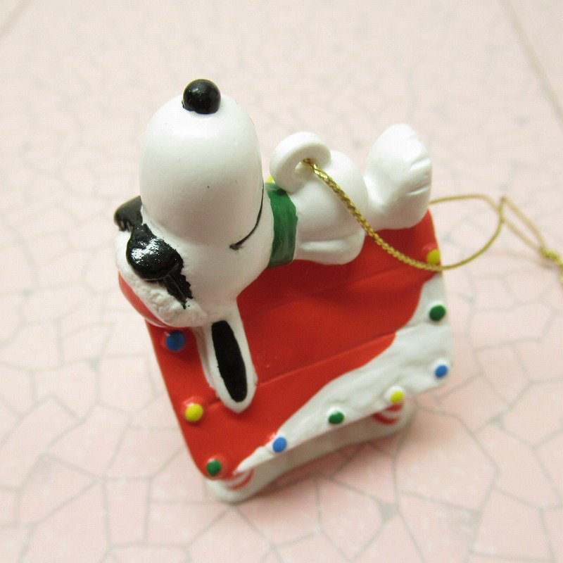 スヌーピー PVC ホイットマンズ クリスマス オーナメント クールサンタのお昼寝