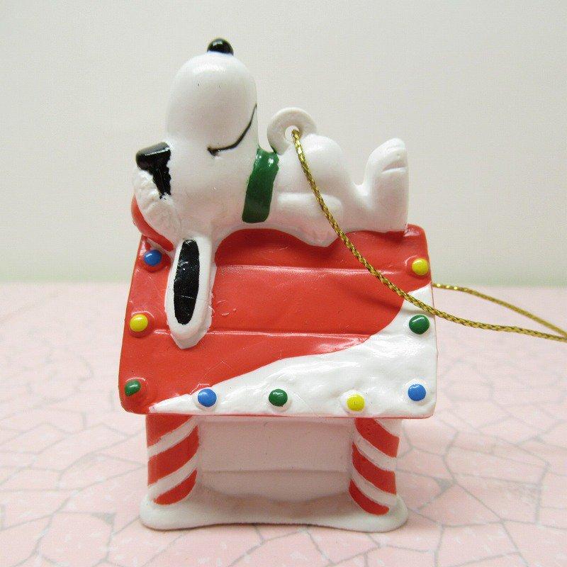 スヌーピー PVC ホイットマンズ クリスマス オーナメント クールサンタのお昼寝【画像2】