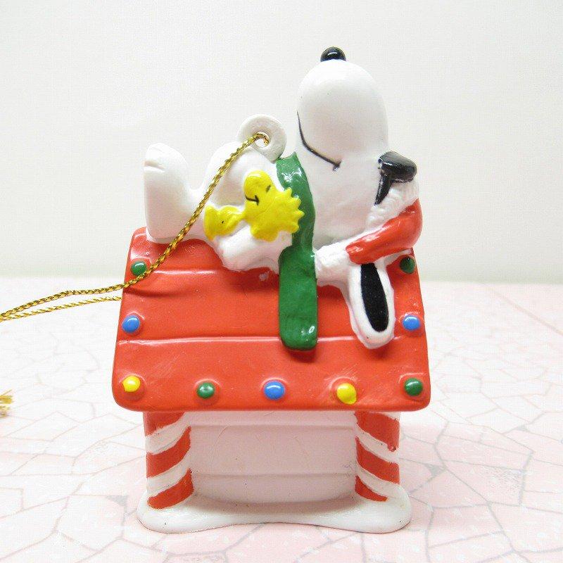 スヌーピー PVC ホイットマンズ クリスマス オーナメント クールサンタのお昼寝【画像4】