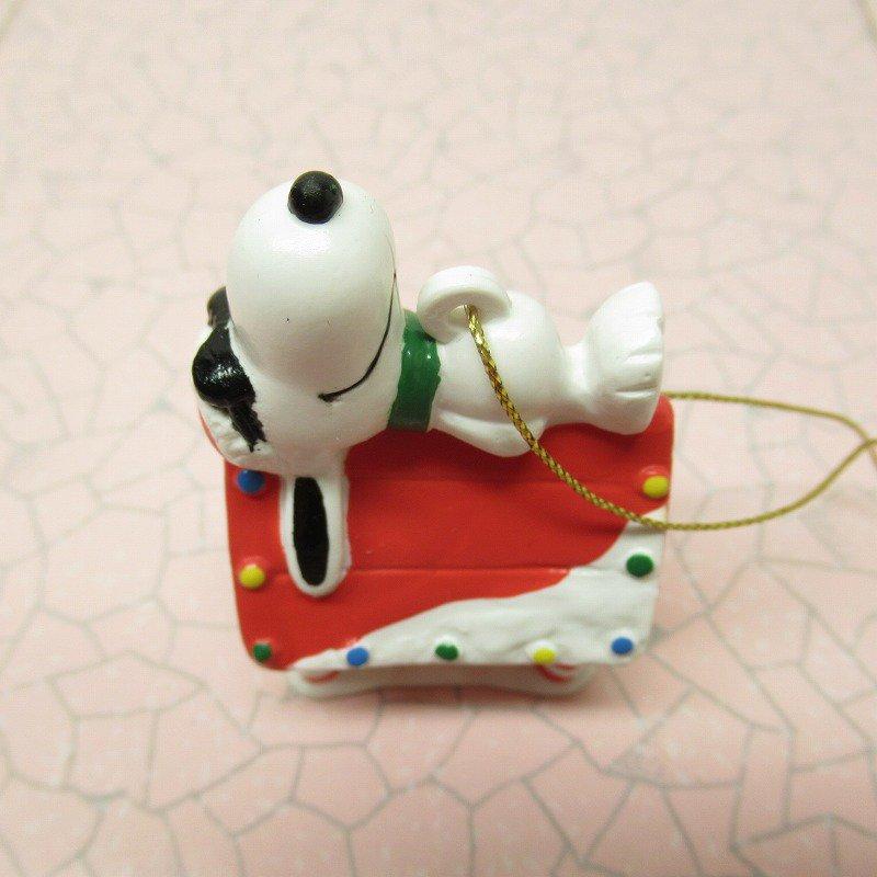 スヌーピー PVC ホイットマンズ クリスマス オーナメント クールサンタのお昼寝【画像6】