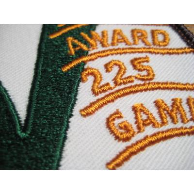 デッドストック・WIBC SENIOR AWARD 225 GAME・ビンテージワッペン【画像3】