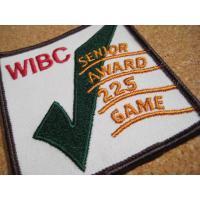 アドバタイジング・組織系 デッドストック・WIBC SENIOR AWARD 225 GAME・ビンテージワッペン