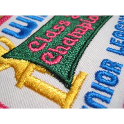 デッドストック・WIBC CLASS A CHAMPION・ビンテージワッペン【画像4】